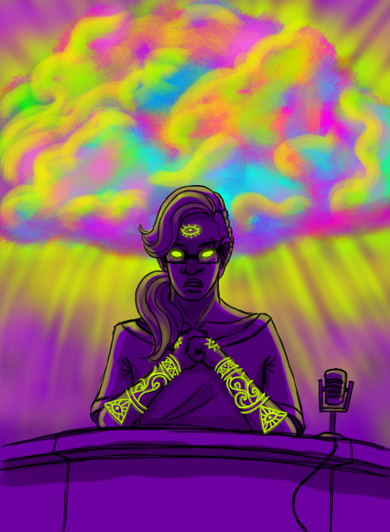 all hail the glow cloud by trisidael on deviantart