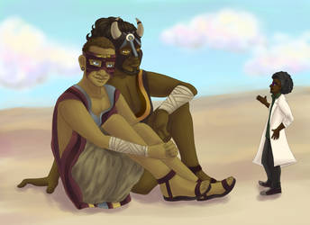 Desert Friends by Trisidael