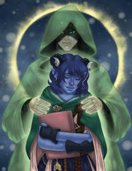 Critical Role - Jester and the Traveler by Trisidael