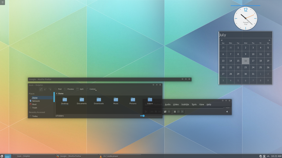 KDE Plasma 5 by pissnaround