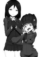 Katyusha and Nonna by sitouanang
