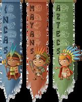 Incas, Mayans and Aztecs by Costalonga