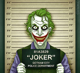 Gotham City Mugshots - Joker