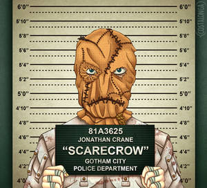Gotham City Mugshots - Scarecrow