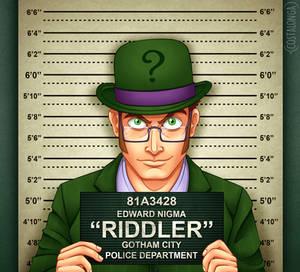 Gotham City Mugshots - Riddler