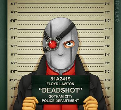 Gotham City Mugshots - Deadshot by Costalonga