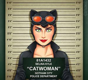 Gotham City Mugshots - Catwoman