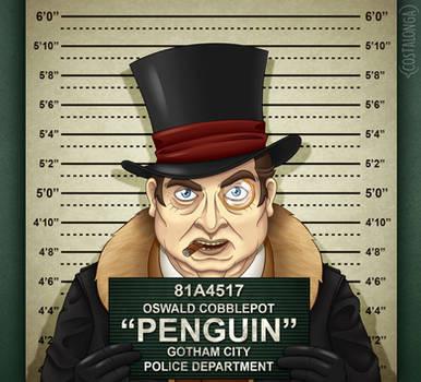 Gotham City Mugshots - Penguin by Costalonga