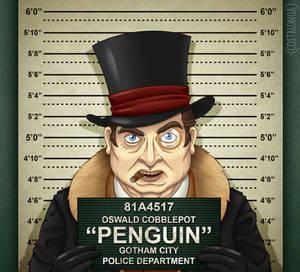 Gotham City Mugshots - Penguin