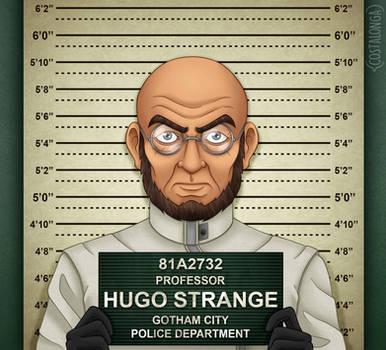 Gotham City Mugshots - Hugo Strange by Costalonga