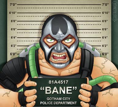 Gotham City Mugshots - Bane by Costalonga