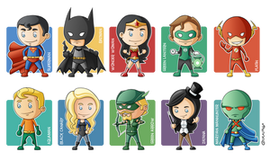 Justice League Minigeeks