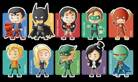 Justice League Minigeeks