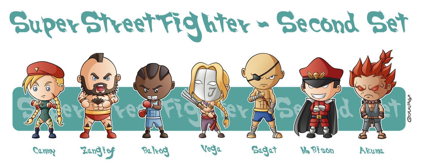 Super Street Fighter Second Set by Costalonga