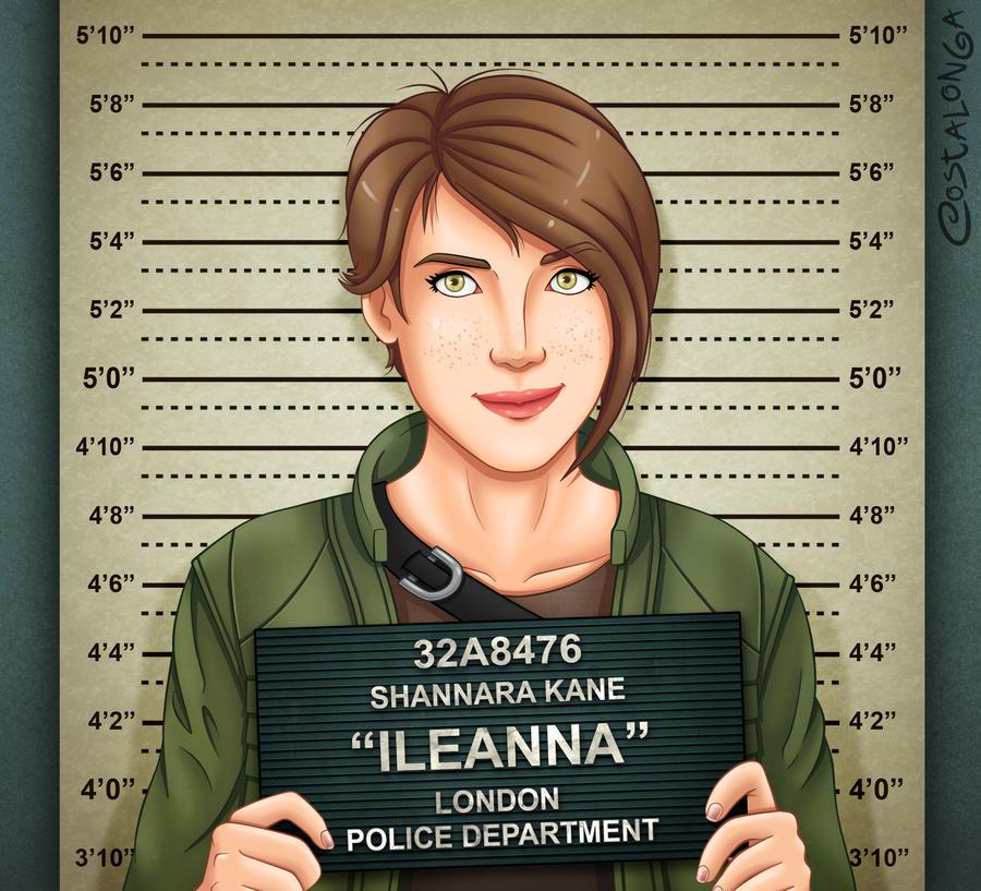 Ileanna Mugshot by Costalonga