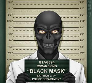 Gotham City Mugshots - Black Mask