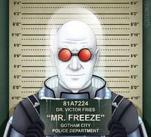 Gotham City Mugshots - Mr. Freeze