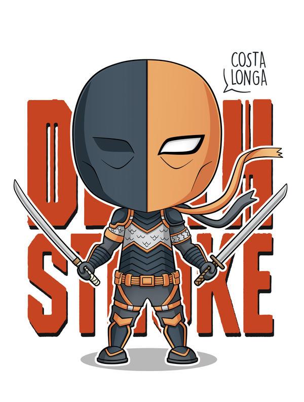 Deathstroke Minigeek by Costalonga