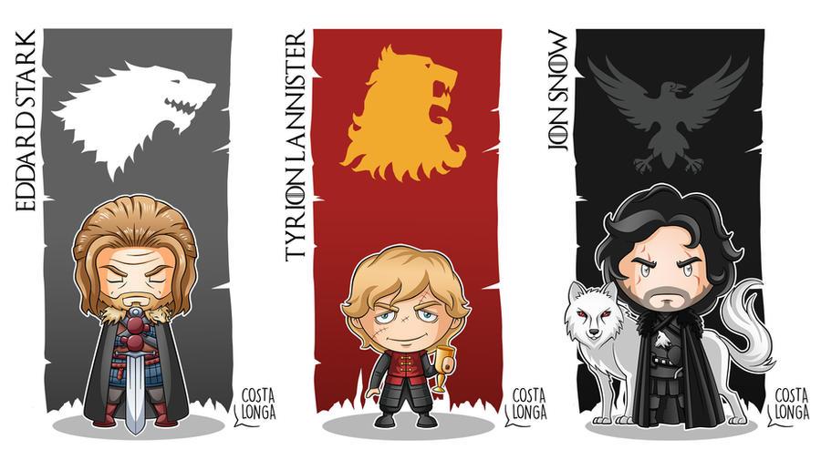 Game of Thrones - Minigeeks 01 by Costalonga