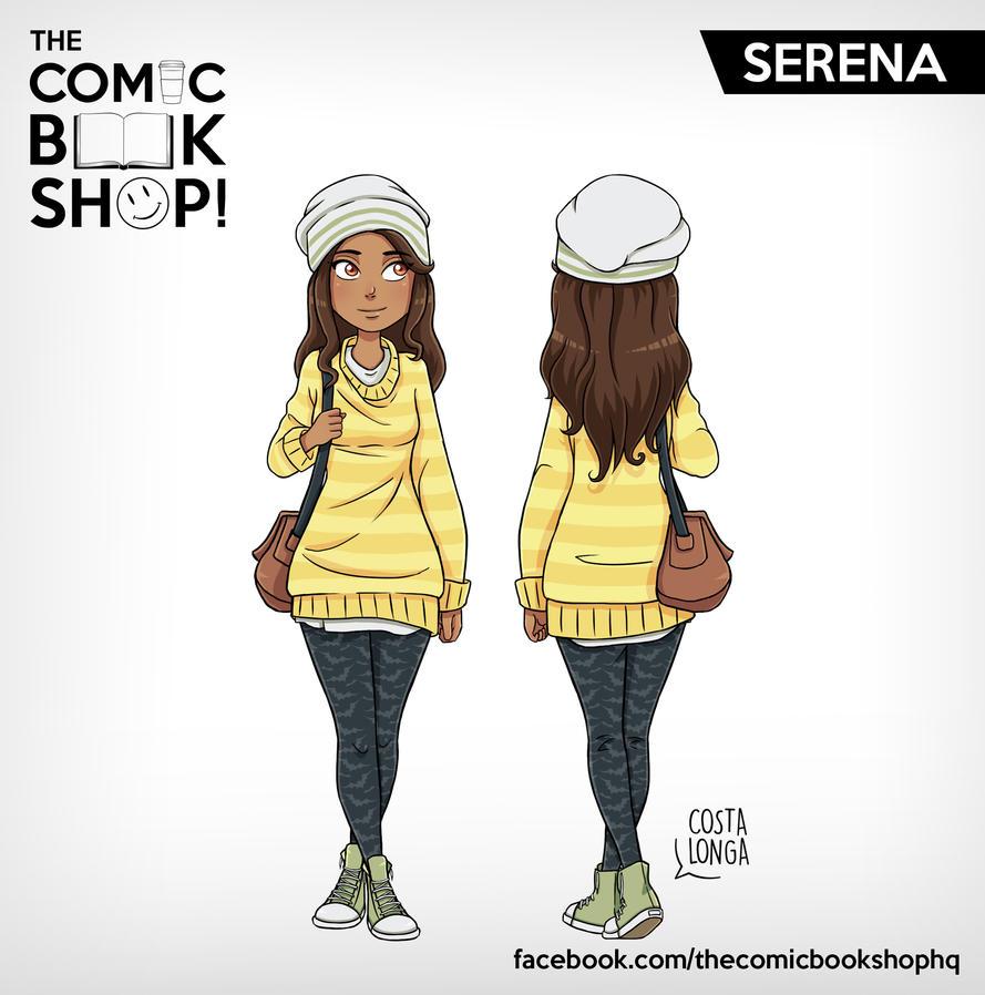 The Comic Book Shop! - Serena by Costalonga