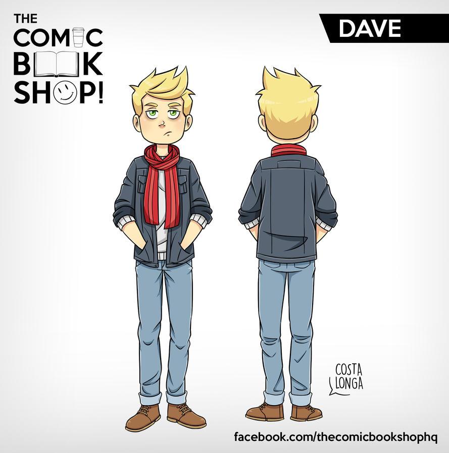 The Comic Book Shop! - Dave by Costalonga