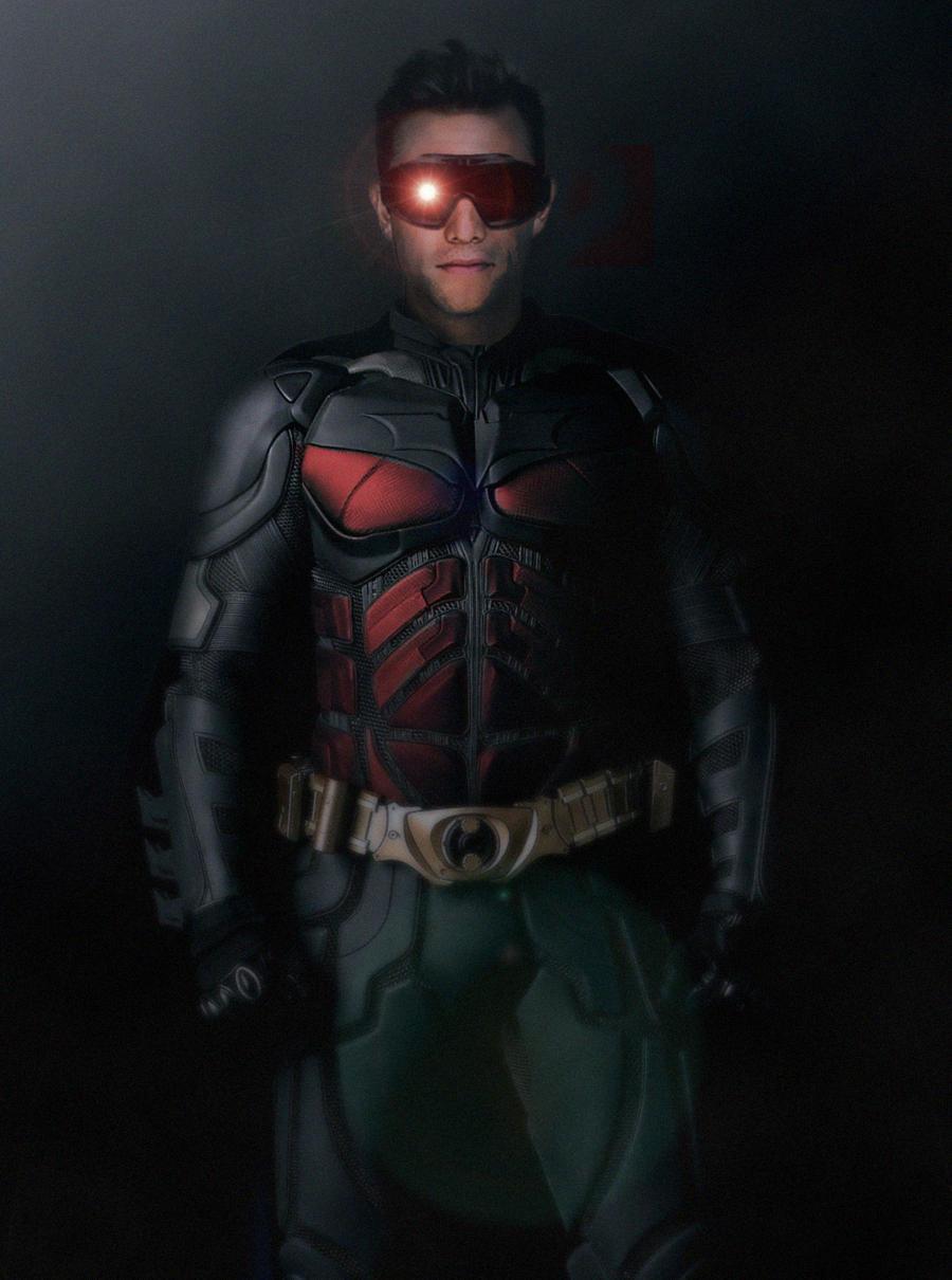 John Blake Robin Costume