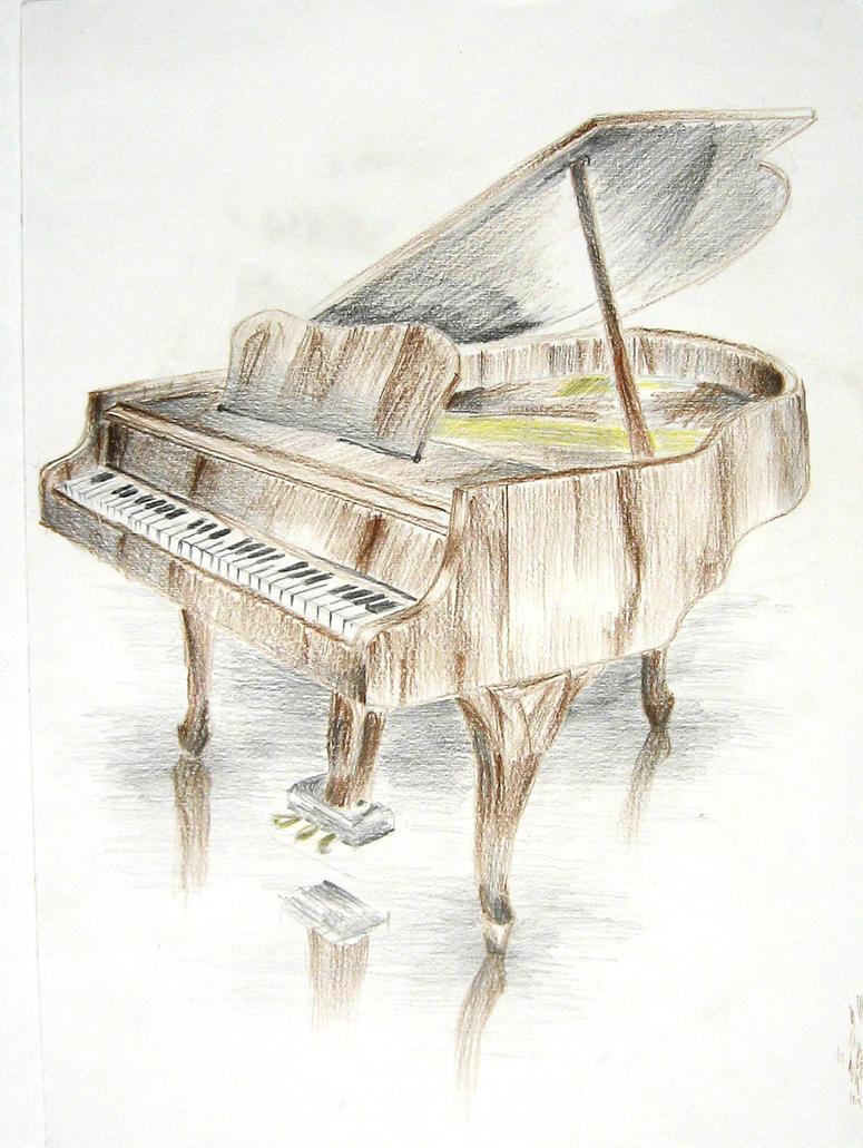Piano by zershyrum