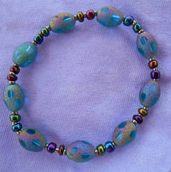 Variegated Eggs - bracelet