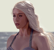 Daenerys Targaryen by mrslong