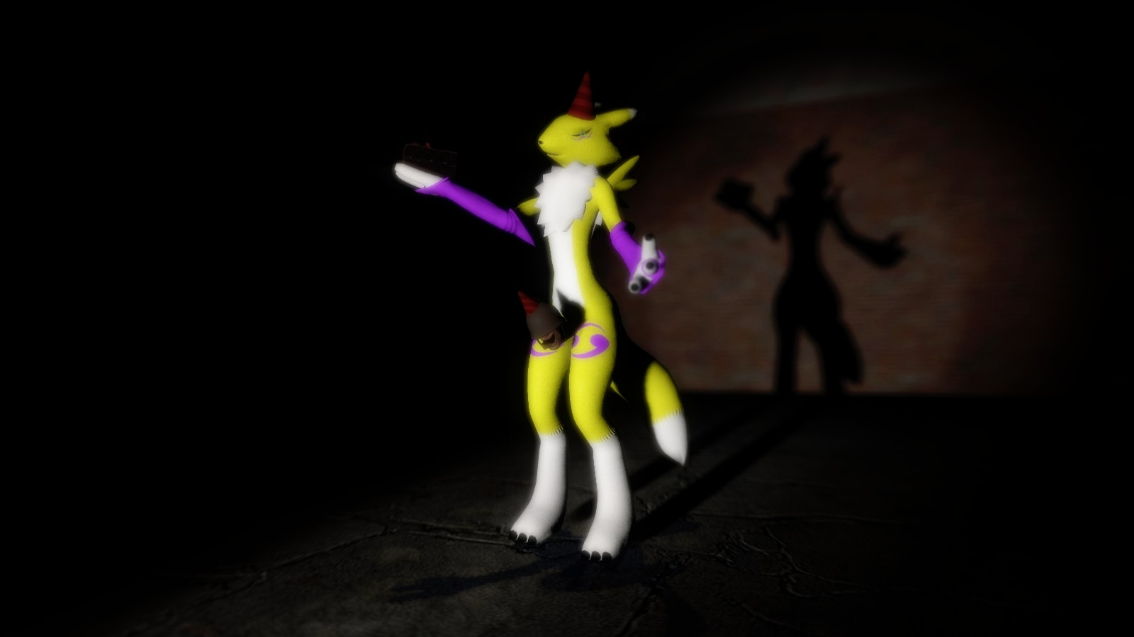 One Year of Dirty Renamon by RandomMadnessityfier