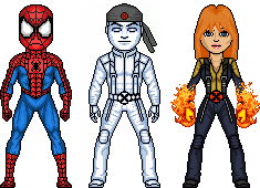 Spiderman and Amazing Friends by benshark92