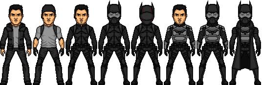 JLA CHRONICLES: Batman / Bruce Wayne by benshark92