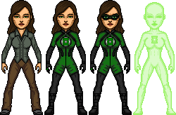 JLA CHRONICLES: Green Lantern / Alexandra DeWitt by benshark92