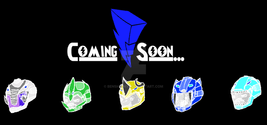 ...IT'S MORPHIN' TIME... ((Coming Soon)) v.2 by benshark92