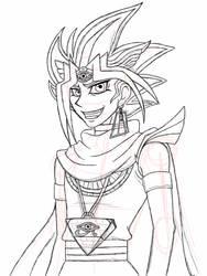 Pharaoh Sketch