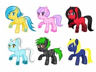 Pony Adopt Sheet #1 [OPEN]