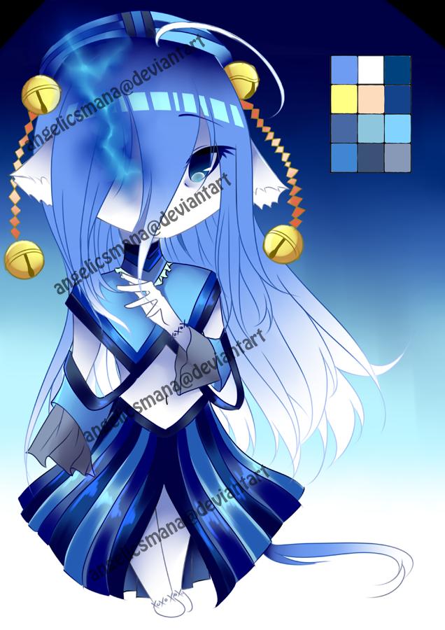 (OPEN) :Adopts: 04 Spirit Catgirl by AngelicsMana