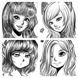 Sketch Gifts for MY Supporter BDO