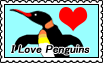 I Love Penguins by altergromit