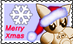 Fella's Merry Xmas Stamp by altergromit