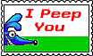 I Peep You - stamp by altergromit