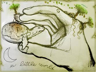 A Little World by altergromit