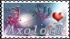 Axolotl Stamp by altergromit