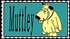 Muttley stamp by altergromit