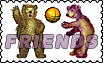 BASKETBALLBEARSFRIENDSSTAMP by altergromit