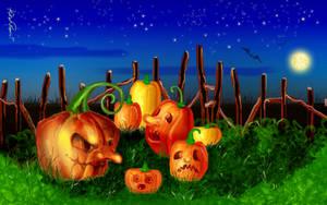 Pumpkins' night by altergromit
