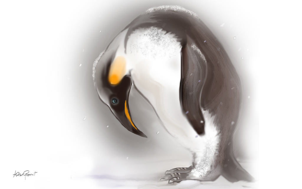 A Penguin's Winter by altergromit