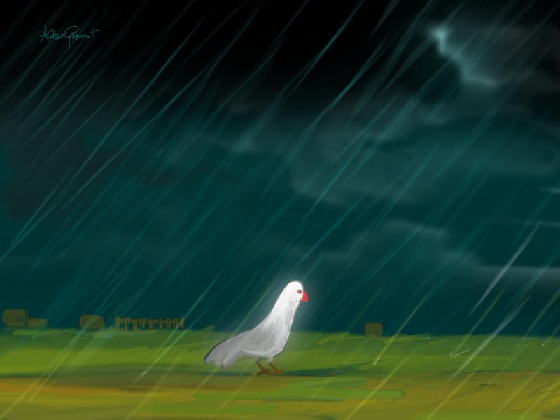 Rain by altergromit