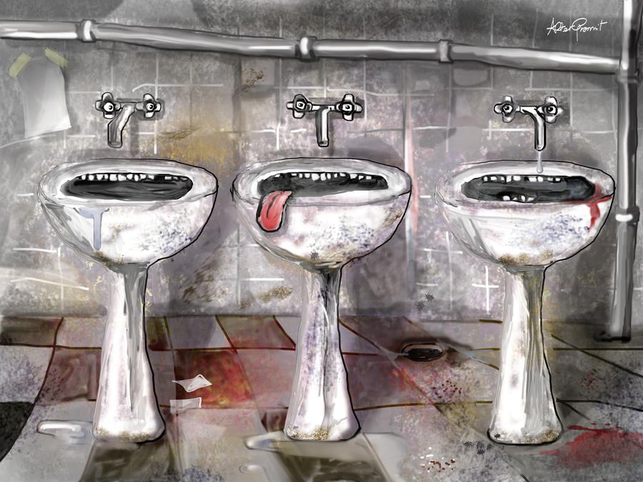 The 3 sinks by altergromit