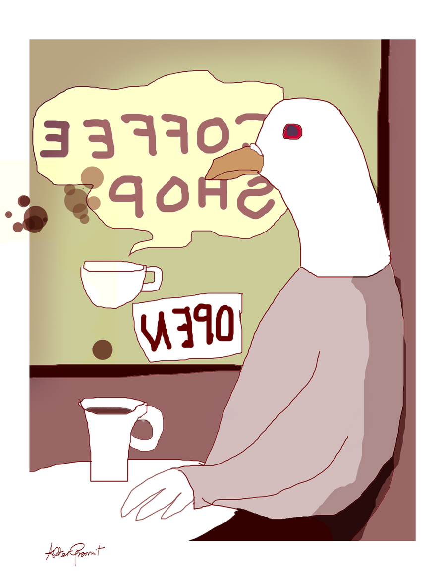 Coffee Obsession by altergromit